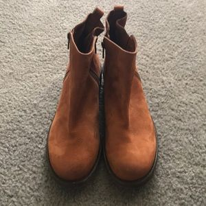 Lucky Brand ankle boots leather size 10